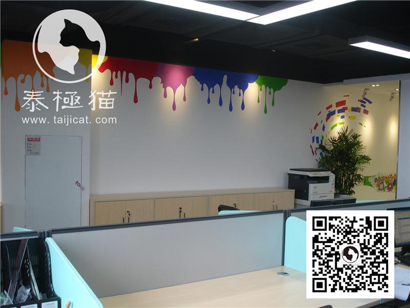 中兴微贷办公室手绘墙