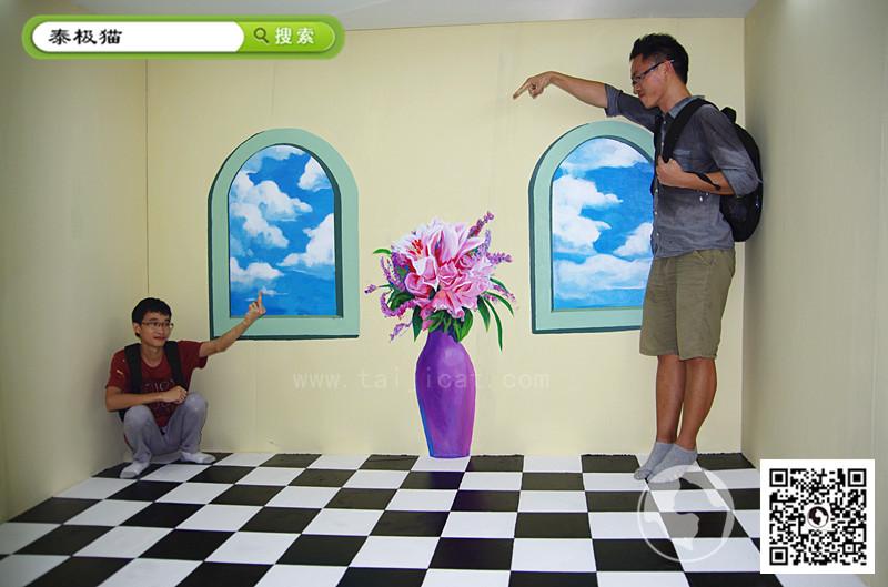 墙体彩绘素材