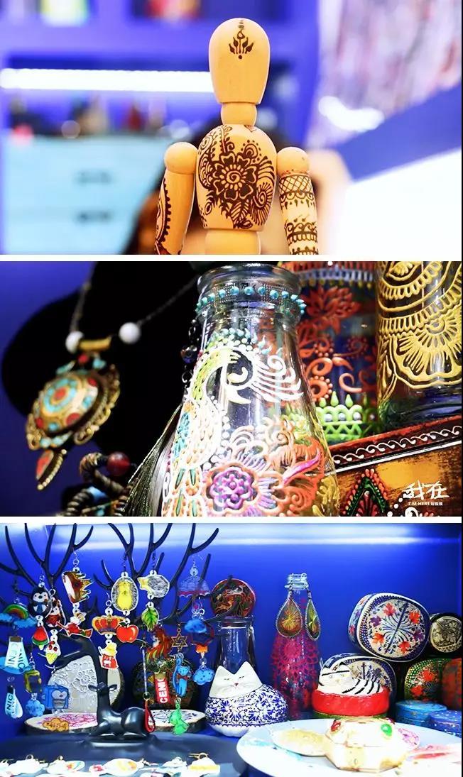 karcia海娜手绘纹身艺术馆